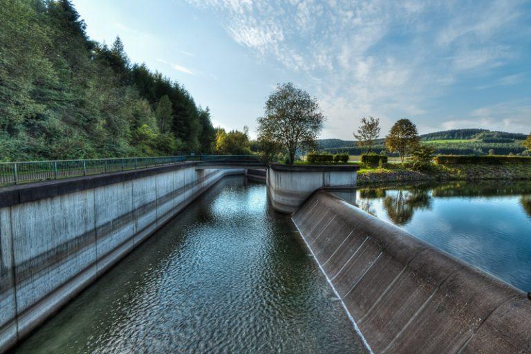 Wasserbauwerk II