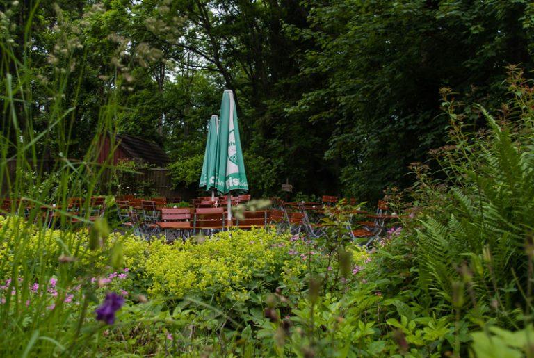 Regenbiergarten