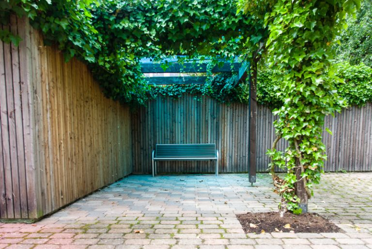 Lichtgarten blau