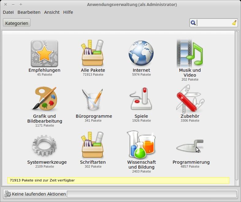 Anwendungsverwaltung