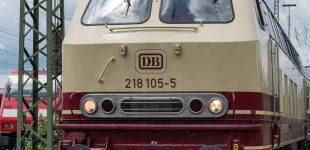 Eleganter Dieselbesuch