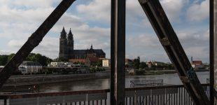 Blick von der Hubbrücke